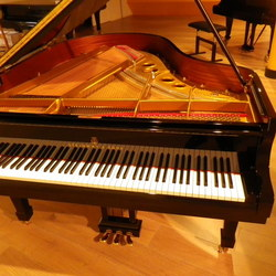 on Steinway & Sons O-180
