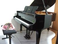 初めてのグランドピアノ