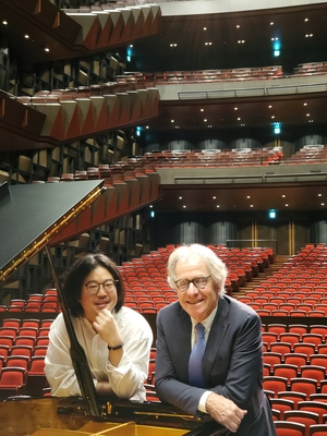 PF, Sorita next to piano.jpg